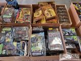6 Boxes of Assorter Spawn Action Figures and Wanda & Cyan Action Figures