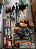Shooting Rests, Tripods, 2 Bipods, and Handgun Vise