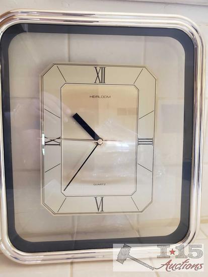 Heirloom Quartz musical clock