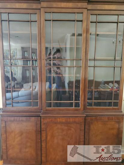 Baker Furniture China Hutch with Key