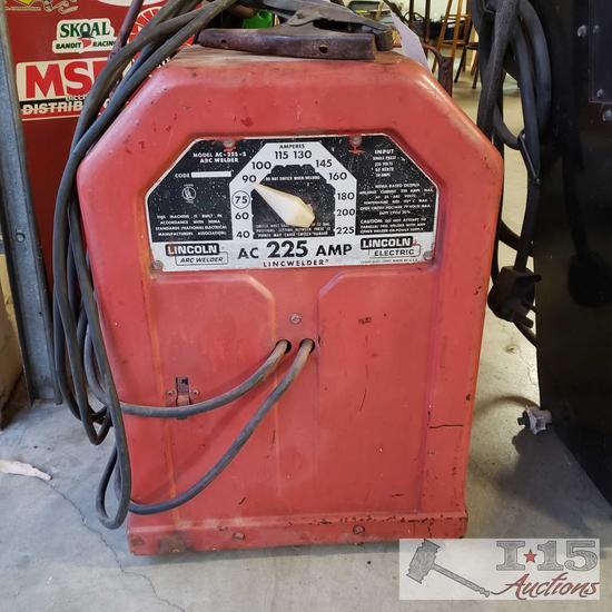 225 amp ac lincoln welder