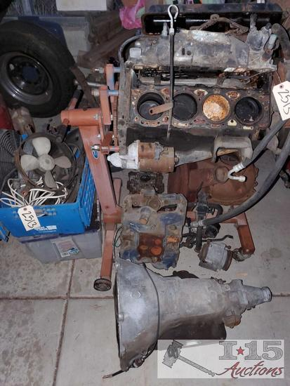 Motor, Transmission, Motor Carry Cart, Various Parts