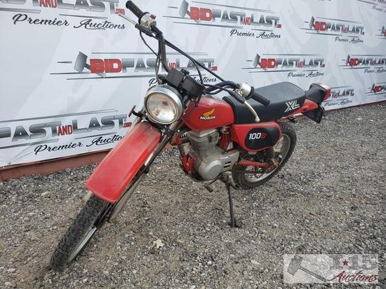 1982 Honda 100S XL
