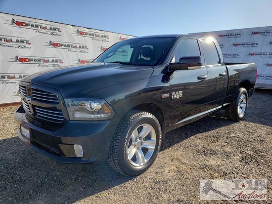 2015 Dodge Ram 1500, Black 4WD, Just Under 45,000 Miles!!