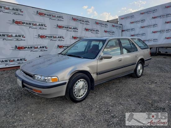 1991 Honda Accord Wagon, See Video!