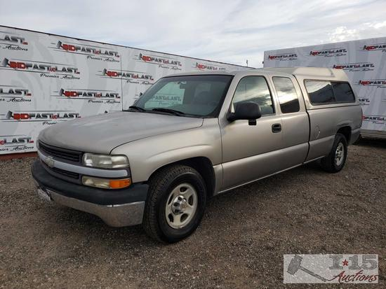 2000 Chevy Silverado 1500 Extended Cab Long Bed, See Video!