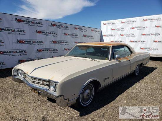 1966 Oldsmobile Ninety Eight, Running! See Video!
