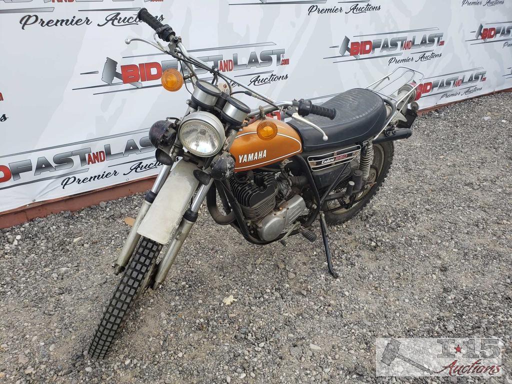 1976 Yamaha Enduro 250