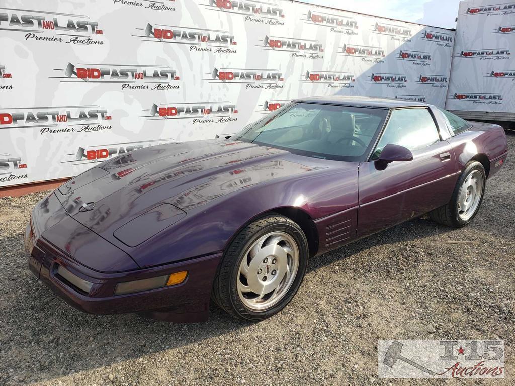1993 Chevy Corvette, Purple, See Video!