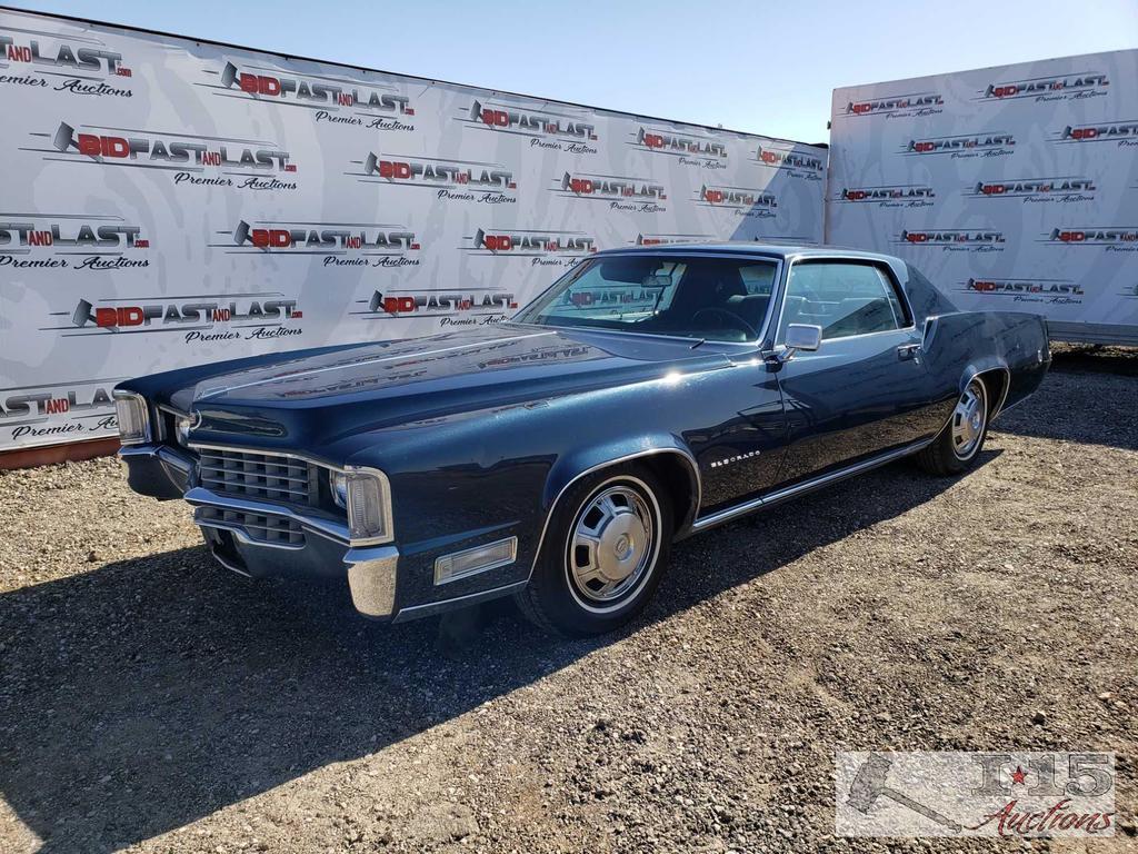 1968 Cadillac El Dorado, Dark Metallic Blue