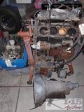 Motor, Transmission, Motor Carry Cart, Various Parts