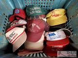 Approx. 15 Vintage Hats from Race Teams and more!