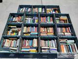 15 Totes of Various Books