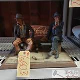 Vintage Coke Cola figurine