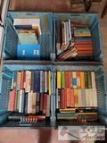 Four Totes of Books