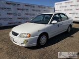2003 Kia Spectra, White, See Video!