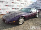1993 Chevy Corvette, Purple, See Video!