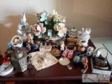 Assorted Figurines, Souvenirs, and More