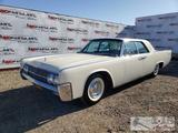 1962 Lincoln Continental Sedan, White