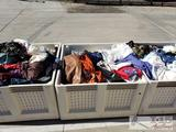 Hundreds of Womens Clothing Items! Some New With Tags! Shirts, Jackets, Pants, and More!