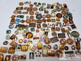 Over 100 Russian Pins