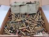 Approx. 300rds. Of 8mm Mauser Ammunition w/ Ammo Belt