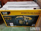 NEW IN BOX CAT RP7500 E Portable Generator