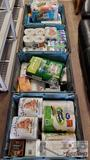 Large lot of Paper Towels, Tissues, Marine Radio, Light bulbs and More!