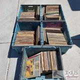 5 totes of various records