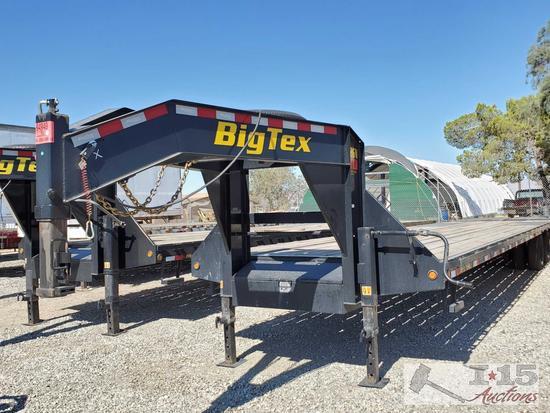 35' 2019 Big Tex Gooseneck Trailer Model 22GN-35+5, Torque Tube