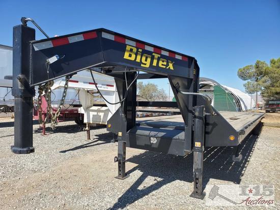 40' 2015 Big Tex Gooseneck Trailer Model 25GN-40, Torque Tube