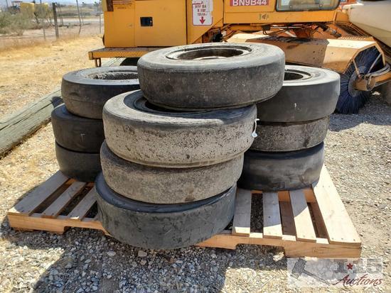 Set of Ten Roller Wheels