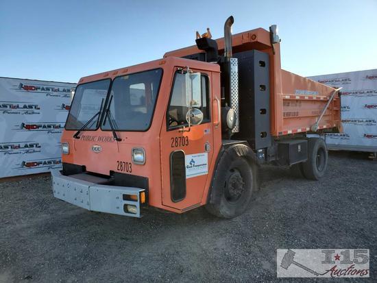 2010 CCC Crane Carrier Co. Low Entry Tilt 2 Warren 12' End Dump Truck
