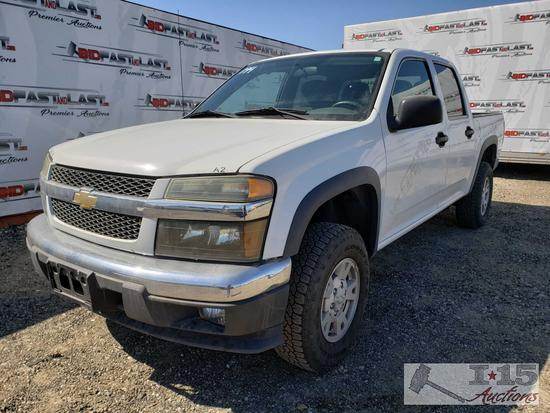 2008 Chevrolet Colorado This will be sold on NON OP. Buyer responsible for smog