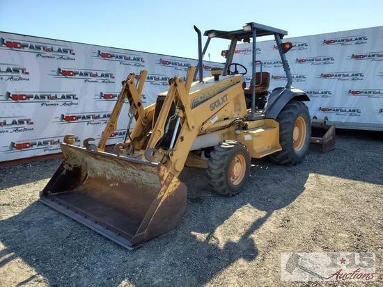 570XLT Case Scraper Tractor