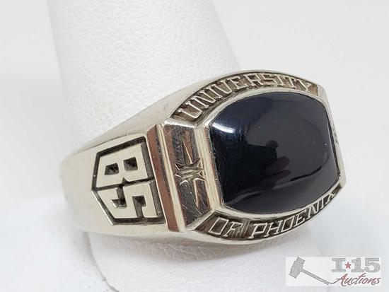 "18k Gold ""University of Phoenix"" Class Ring, 22.3g"