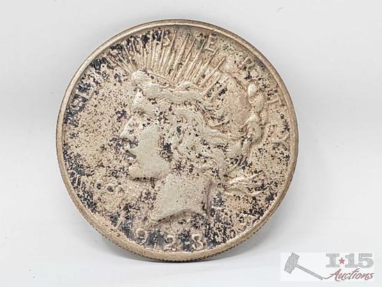 1923 Peace Silver Dollar San Francisco Mint