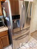 Samsung Refrigerator Model RF25HMEDBSR