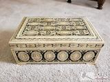 Asian Decorative Lock Box for Keepsake Items
