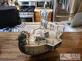 Asian Decorative Sail Boat