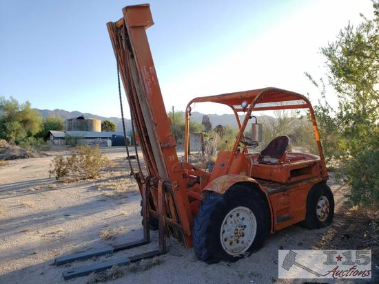 Forklift with Gas Engine