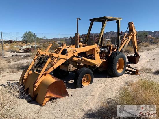 Case 580 Construction King Backhoe