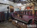 Vintage Walker Model 1055 Electric Car Lift and Press