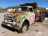1959 GMC 550 Dump Truck