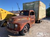 1950 Ford Cargo Truck
