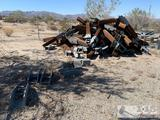 Huge lot of Guard Rail Uprights and mounts