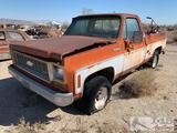 1974 Chevrolet Cheyenne C10 Truck