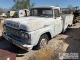 1959 Ford F100 Manufactured in San Jose Ca
