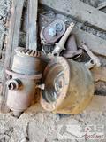 Assorted Vintage Tractor Parts