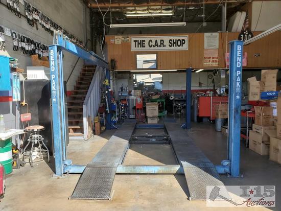 BendPak 4 Post Lift 12,000 pound lift, See Video!